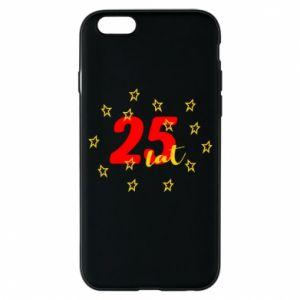 Etui na iPhone 6/6S Urodziny. 25 lat