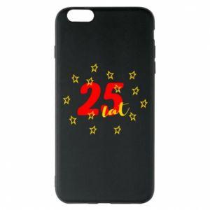 Etui na iPhone 6 Plus/6S Plus Urodziny. 25 lat
