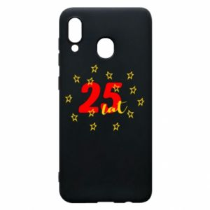 Etui na Samsung A20 Urodziny. 25 lat