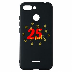 Etui na Xiaomi Redmi 6 Urodziny. 25 lat