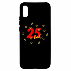 Xiaomi Redmi 9a Case Birthday 25 years