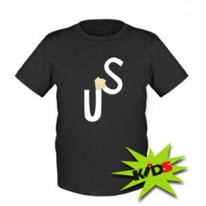 Dziecięcy T-shirt US - PrintSalon