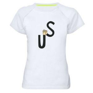 Damska koszulka sportowa US