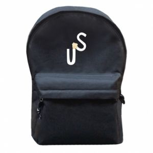 Backpack with front pocket US