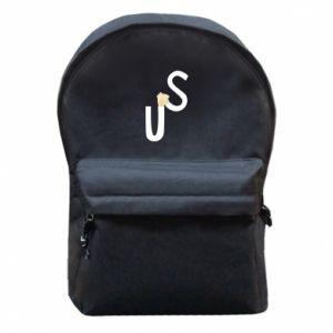 Plecak z przednią kieszenią US - PrintSalon