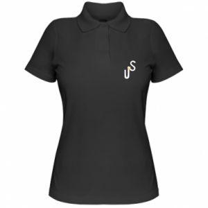 Damska koszulka polo US - PrintSalon