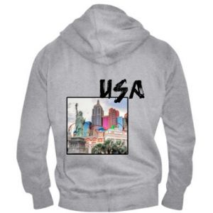 Men's zip up hoodie USA