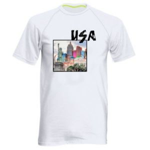 Men's sports t-shirt USA