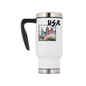 Travel mug USA