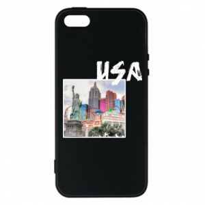 Etui na iPhone 5/5S/SE USA