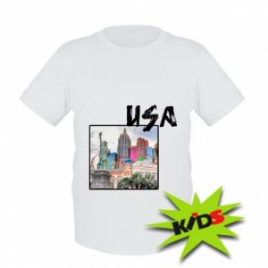 Kids T-shirt USA