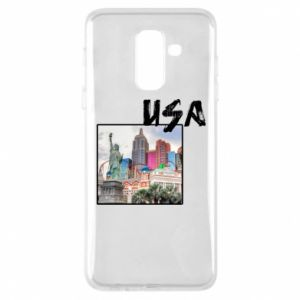 Phone case for Samsung A6+ 2018 USA