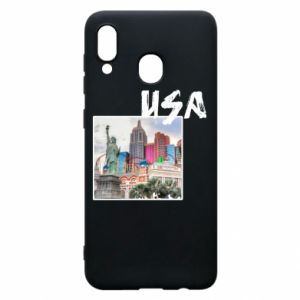 Phone case for Samsung A20 USA