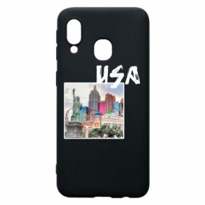 Phone case for Samsung A40 USA