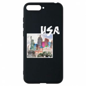 Phone case for Huawei Y6 2018 USA