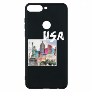 Phone case for Huawei Y7 Prime 2018 USA