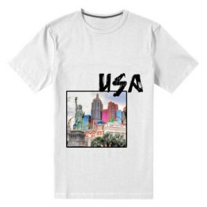 Men's premium t-shirt USA
