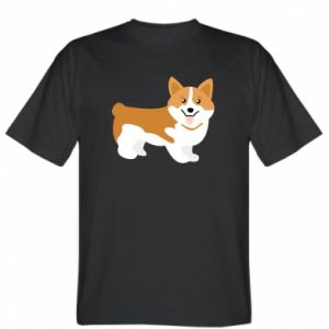 T-shirt Corgi smile