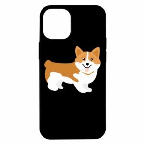 iPhone 12 Mini Case Corgi smile