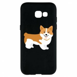 Phone case for Samsung A5 2017 Corgi smile
