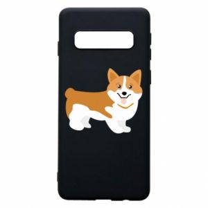 Phone case for Samsung S10 Corgi smile