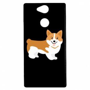 Sony Xperia XA2 Case Corgi smile