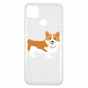 Xiaomi Redmi 9c Case Corgi smile