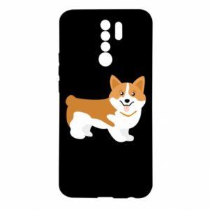 Xiaomi Redmi 9 Case Corgi smile
