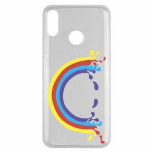 Huawei Y9 2019 Case Smiling rainbow