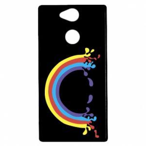 Sony Xperia XA2 Case Smiling rainbow