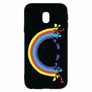 Phone case for Samsung J3 2017 Smiling rainbow
