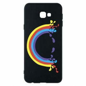Phone case for Samsung J4 Plus 2018 Smiling rainbow