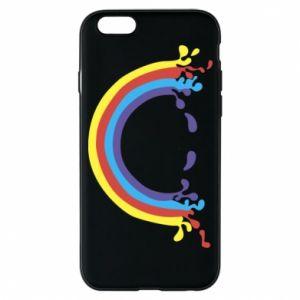 Etui na iPhone 6/6S Uśmiechnięta tęcza