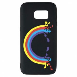 Phone case for Samsung S7 Smiling rainbow