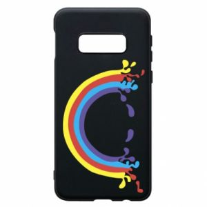 Phone case for Samsung S10e Smiling rainbow