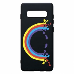 Phone case for Samsung S10+ Smiling rainbow