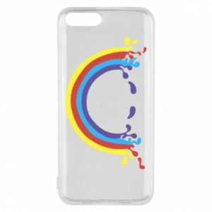 Phone case for Xiaomi Mi6 Smiling rainbow