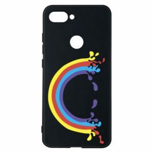 Etui na Xiaomi Mi8 Lite Uśmiechnięta tęcza