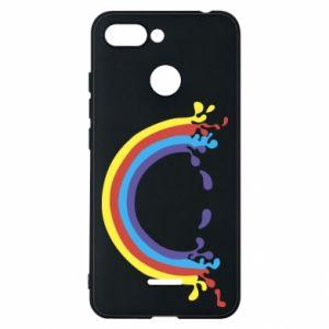 Phone case for Xiaomi Redmi 6 Smiling rainbow