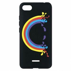 Phone case for Xiaomi Redmi 6A Smiling rainbow
