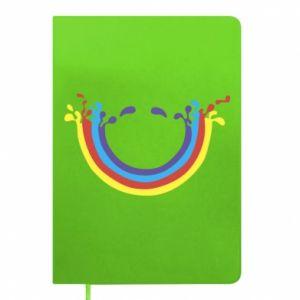 Notepad Smiling rainbow