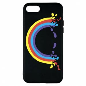 Phone case for iPhone 8 Smiling rainbow