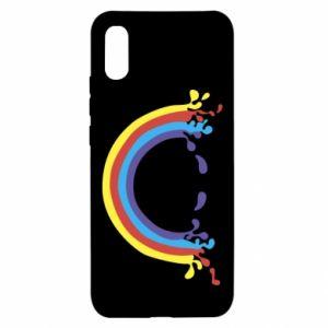 Xiaomi Redmi 9a Case Smiling rainbow