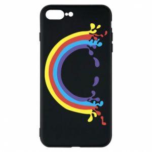 Etui na iPhone 8 Plus Uśmiechnięta tęcza
