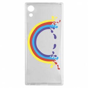 Sony Xperia XA1 Case Smiling rainbow