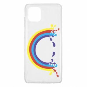 Samsung Note 10 Lite Case Smiling rainbow