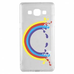 Samsung A5 2015 Case Smiling rainbow