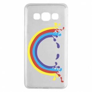 Samsung A3 2015 Case Smiling rainbow