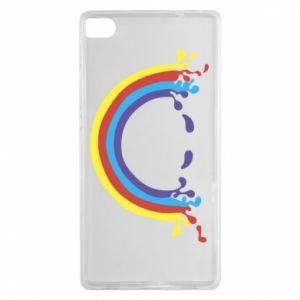 Huawei P8 Case Smiling rainbow