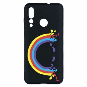 Huawei Nova 4 Case Smiling rainbow